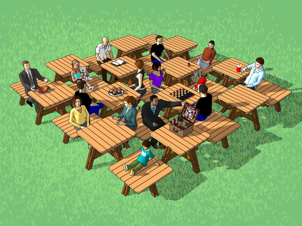 Common Picnic - mockup