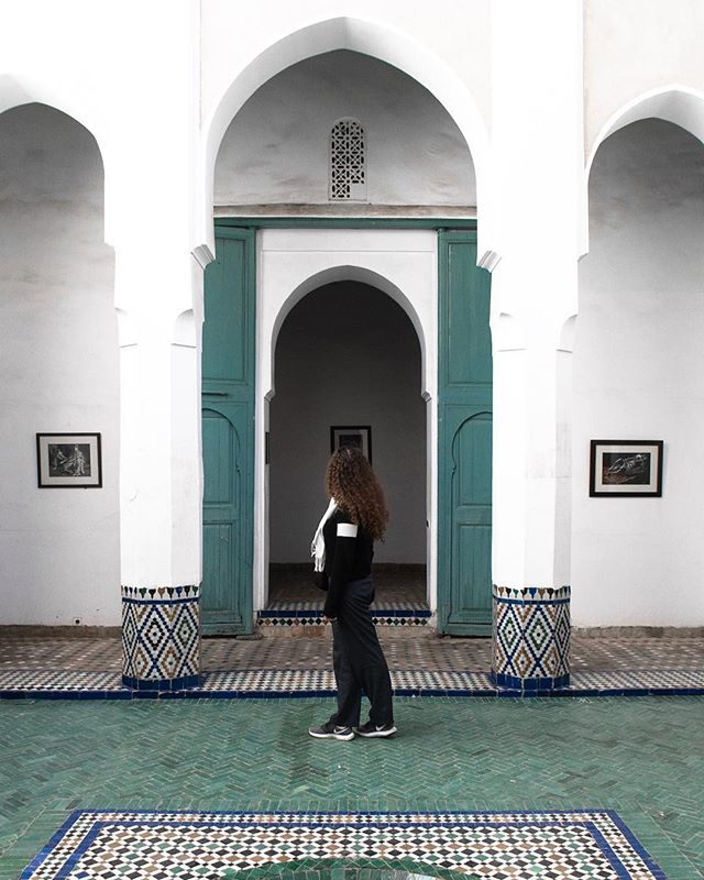 A trip to the Museum of Marrakech revealed this incredible place. . #marrakech #marrakechmedina #discovermarrakech #visitmarrakech #museum