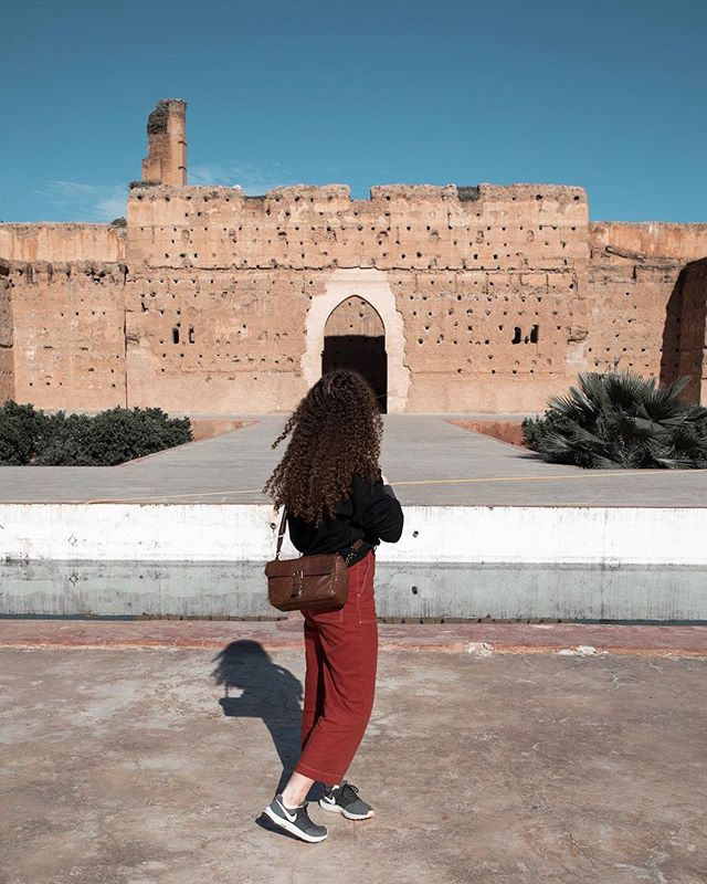 El Badi Palace in Marrakech😍