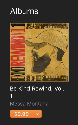"""Click image above to Pre-Order """"Be Kind Rewind Vol 1."""""""