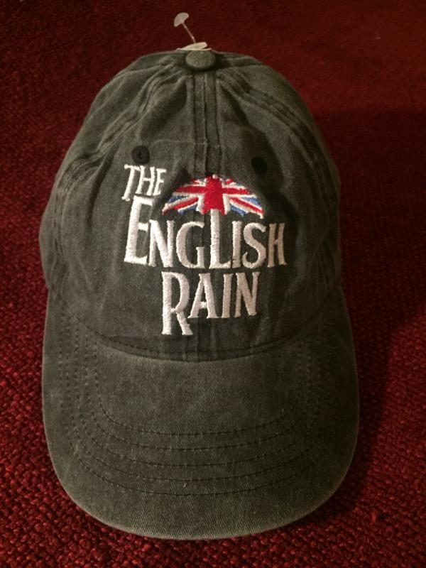 4799e374f58 The English Rain — Grey w  White Logo Adjustable Ball Cap