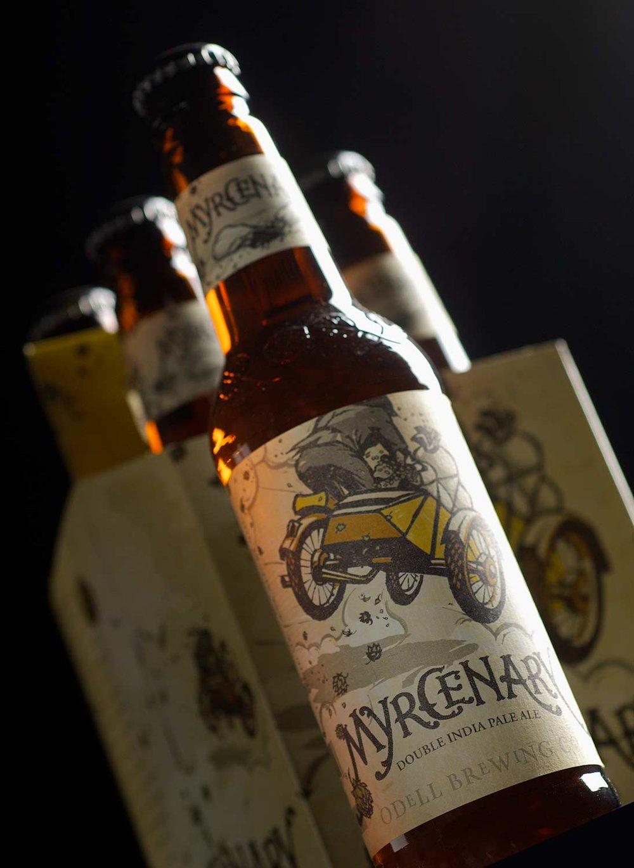 Odell Brewing Craft Beer Label Design Ebbing Branding Design