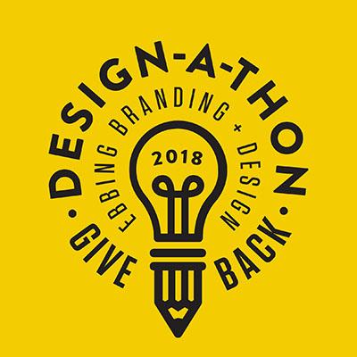 Use buttons to download DESIGNATHON logos