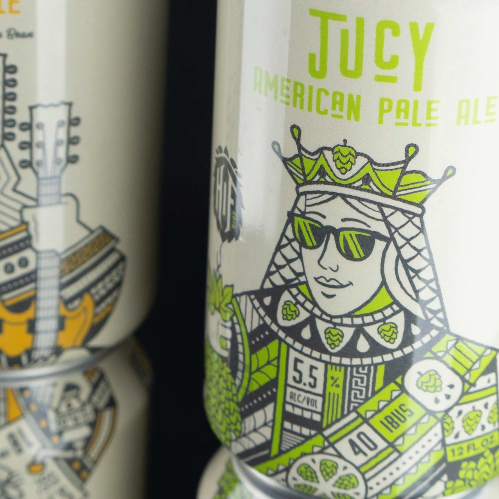 Jucy American Pale Ale.