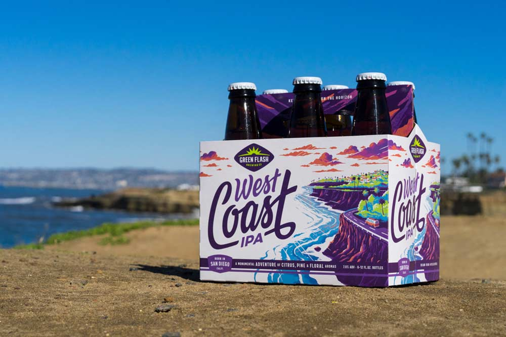 Photo Credit: Green Flash Brewing Co. | West Coast IPA