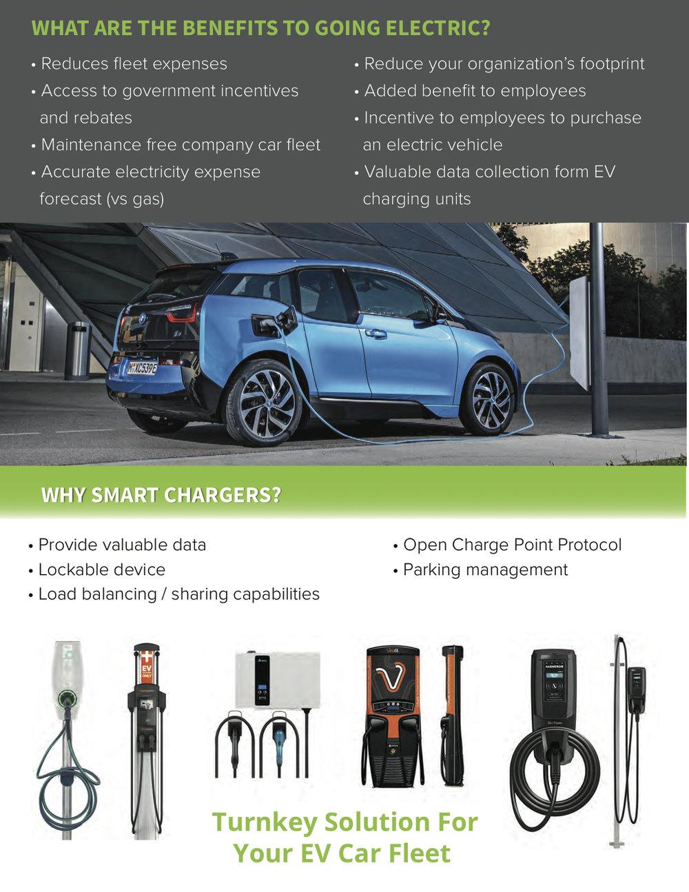 EV charging Station workplace