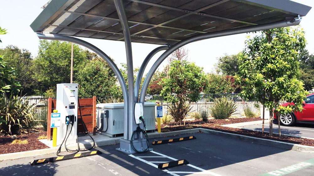 EVBOX Charging Solar