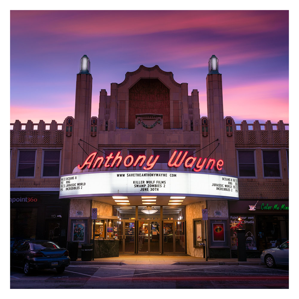 Anthony Wayne Theater - Summer, 2018