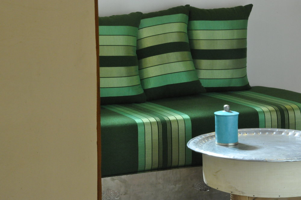 Batoul suite's lounge area