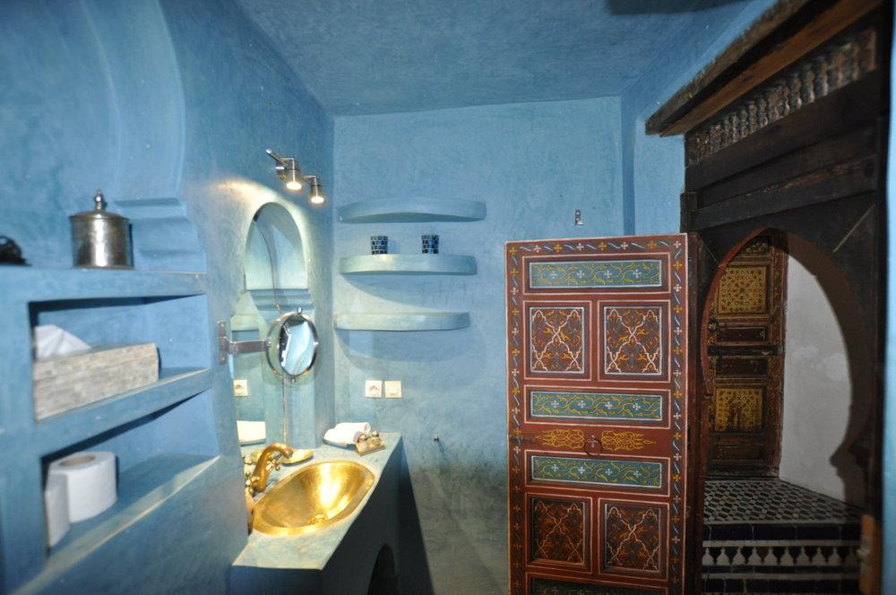 La salle de Bains de la chambre Hachmia