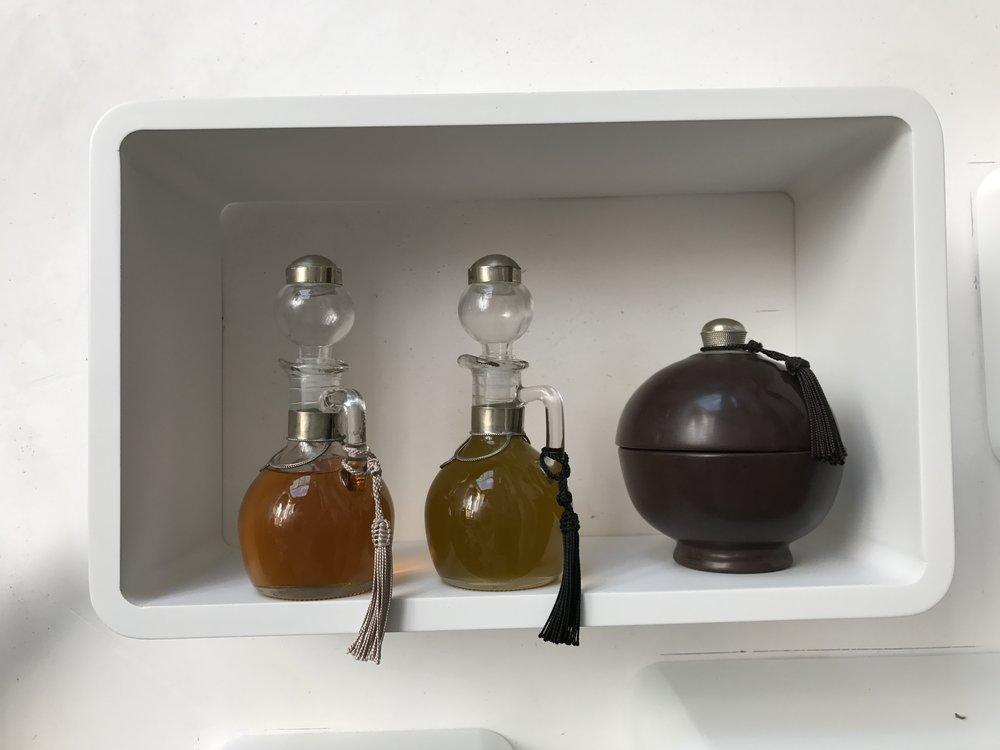 Huile d'olive et d'argan