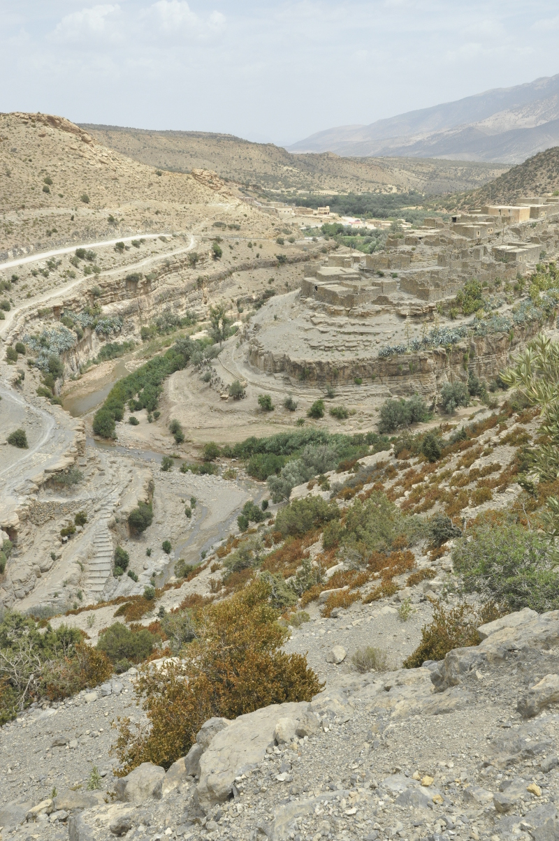 The village of Taferdouste
