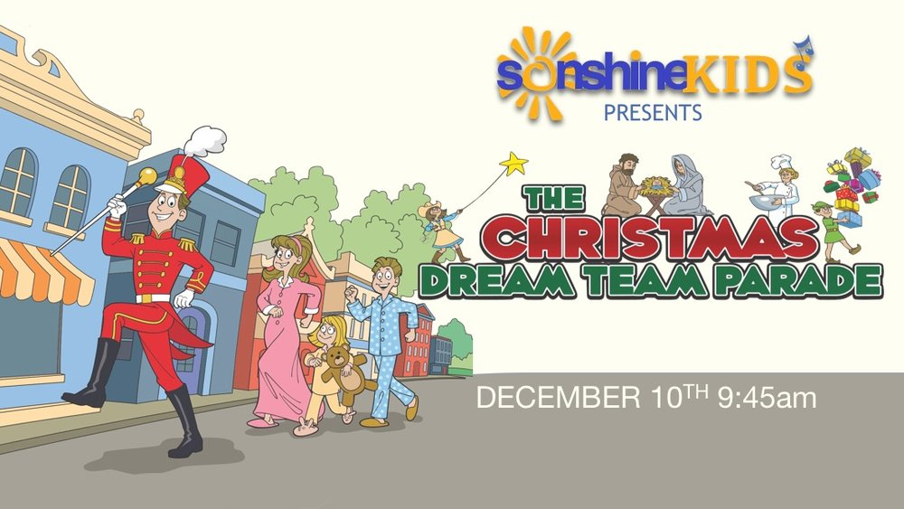 Sonshine Kids Christmas Program — Grace Baptist Church