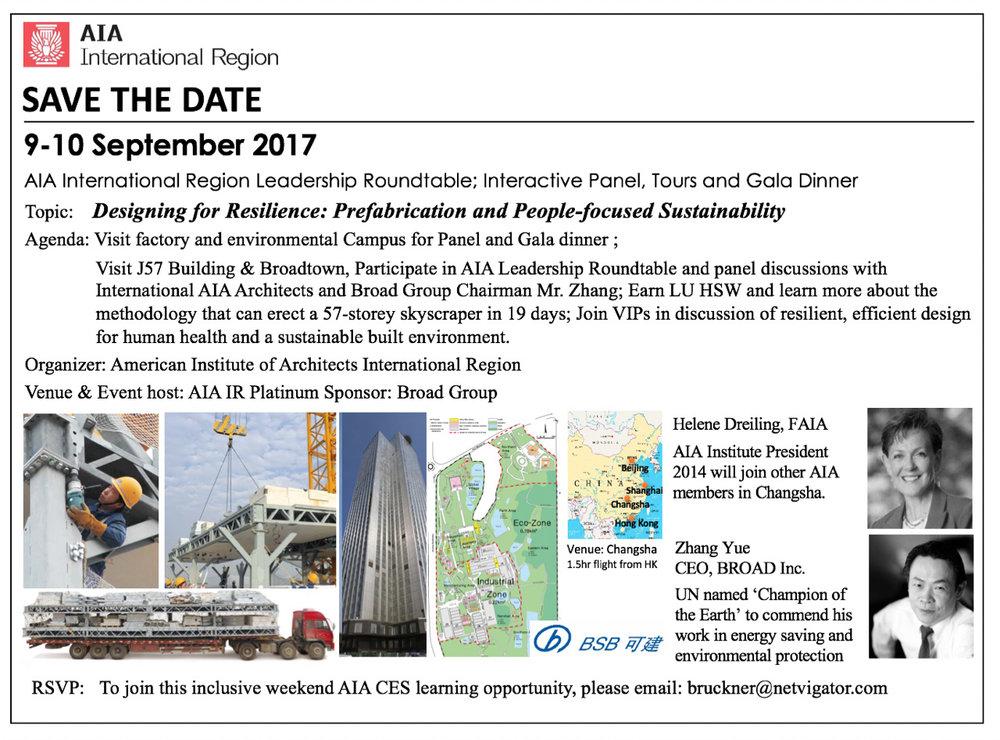 Designing for Resiliance - 9-10 September 2017