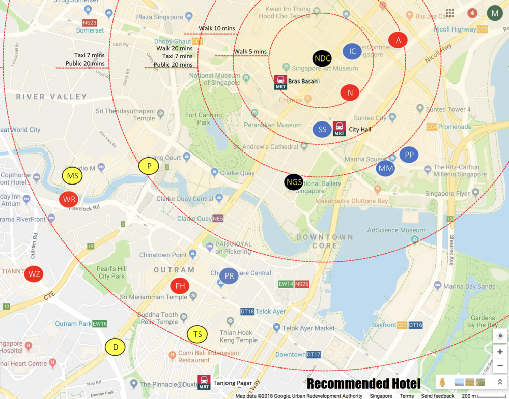 - Download Hotels and Venues Map