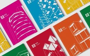Newly designed brochure of AIA Japan
