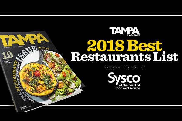 2018 Best Restaurants List    Tampa Magazine