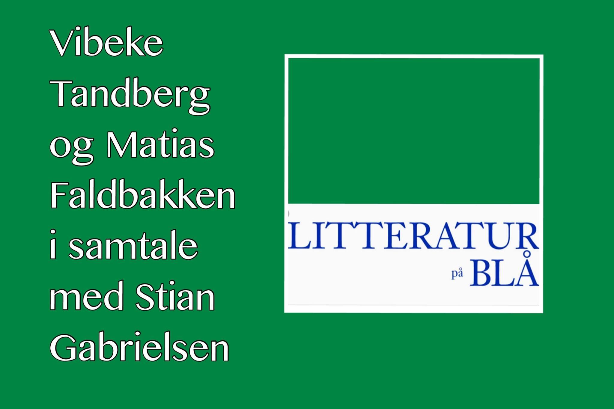 litteratur på blå