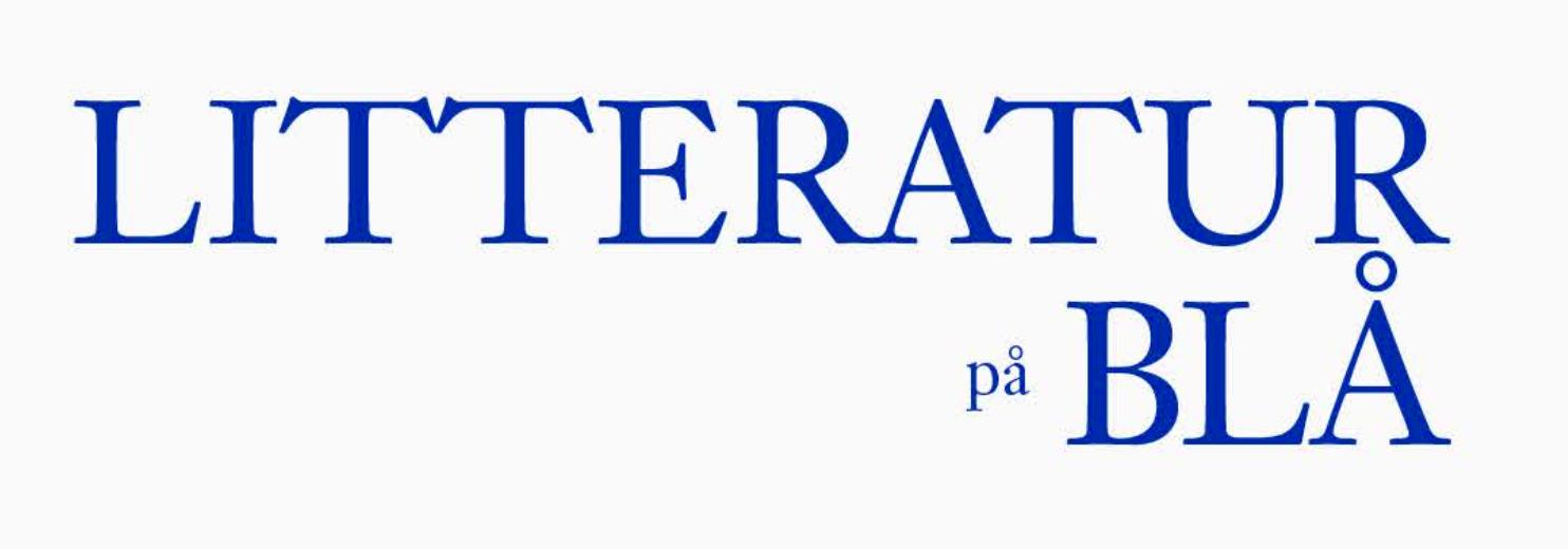 aaf74245 Litteratur på Blå