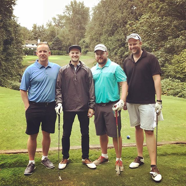 Great time at the @abbotsfordchamber golf tournament today! Thanks for the great day!