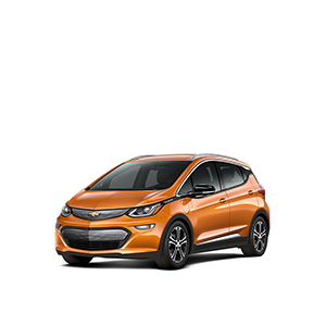 Chevrolet Bolt - Range:238 milesPrice:$37,495