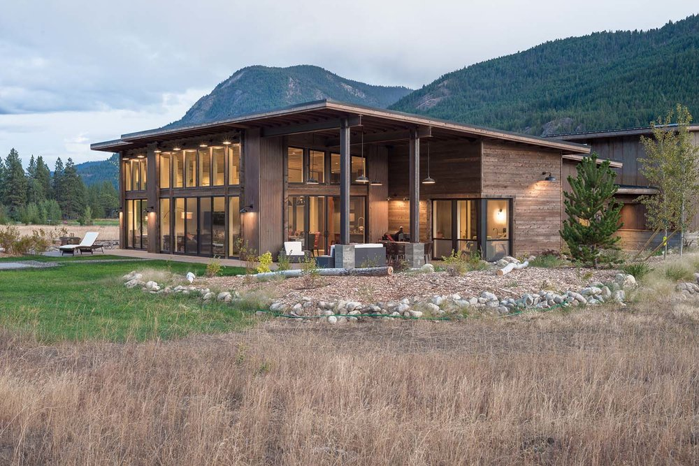 "<span class=""project-title"">MAZAMA MEADOW HOUSE</span>  Mazama, WA"