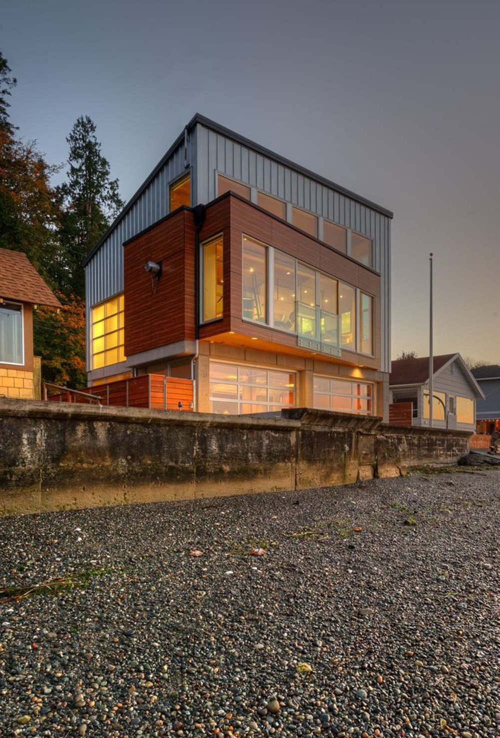 "<span class=""project-title"">TSUNAMI HOUSE, waterfront</span>  Camano Island, WA"