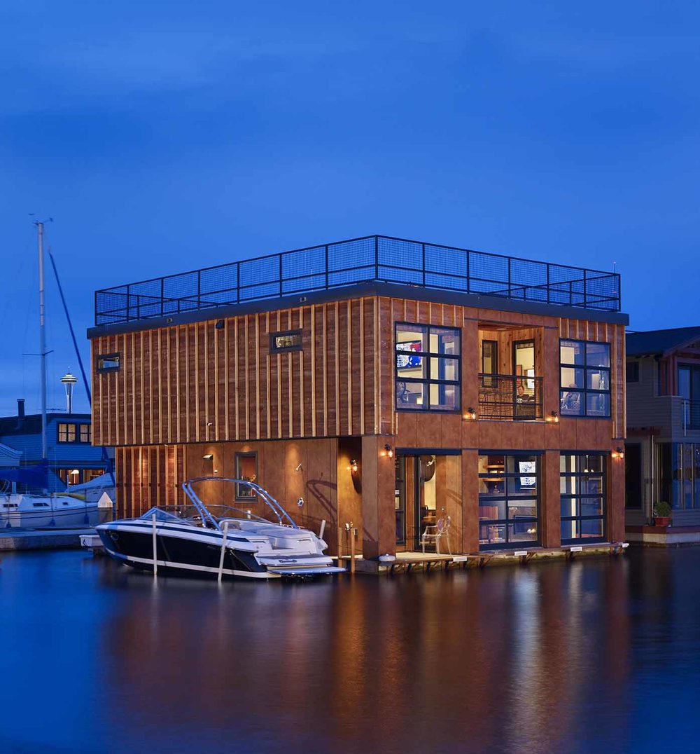 LAKE UNION FLOAT HOME | Seattle, WA