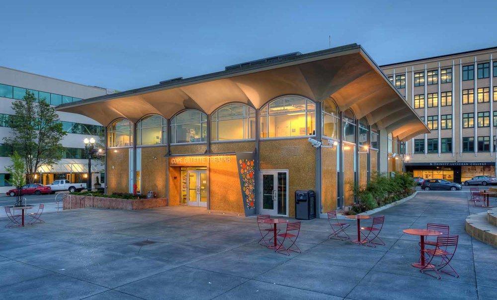 "<span class=""project-title"">Cope Gillette Theatre Renovation</span>  Everett, WA"