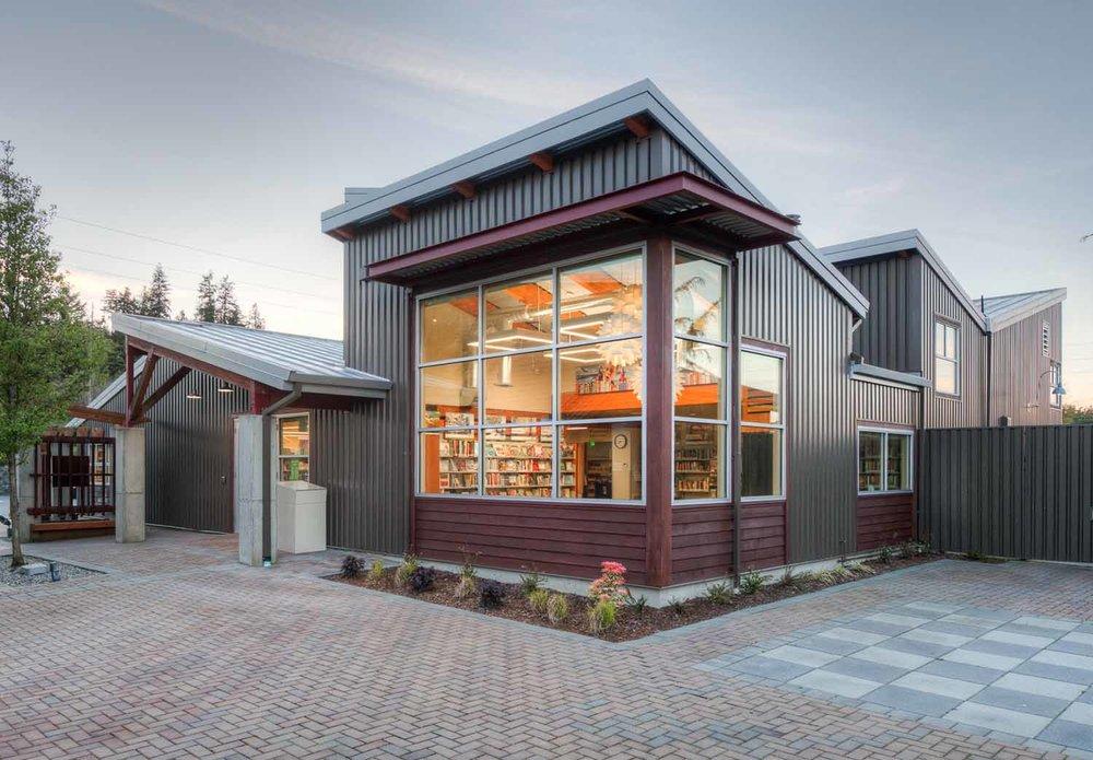 "<span class=""project-title"">Camano Island Library Renovation</span>  Camano Island, WA"