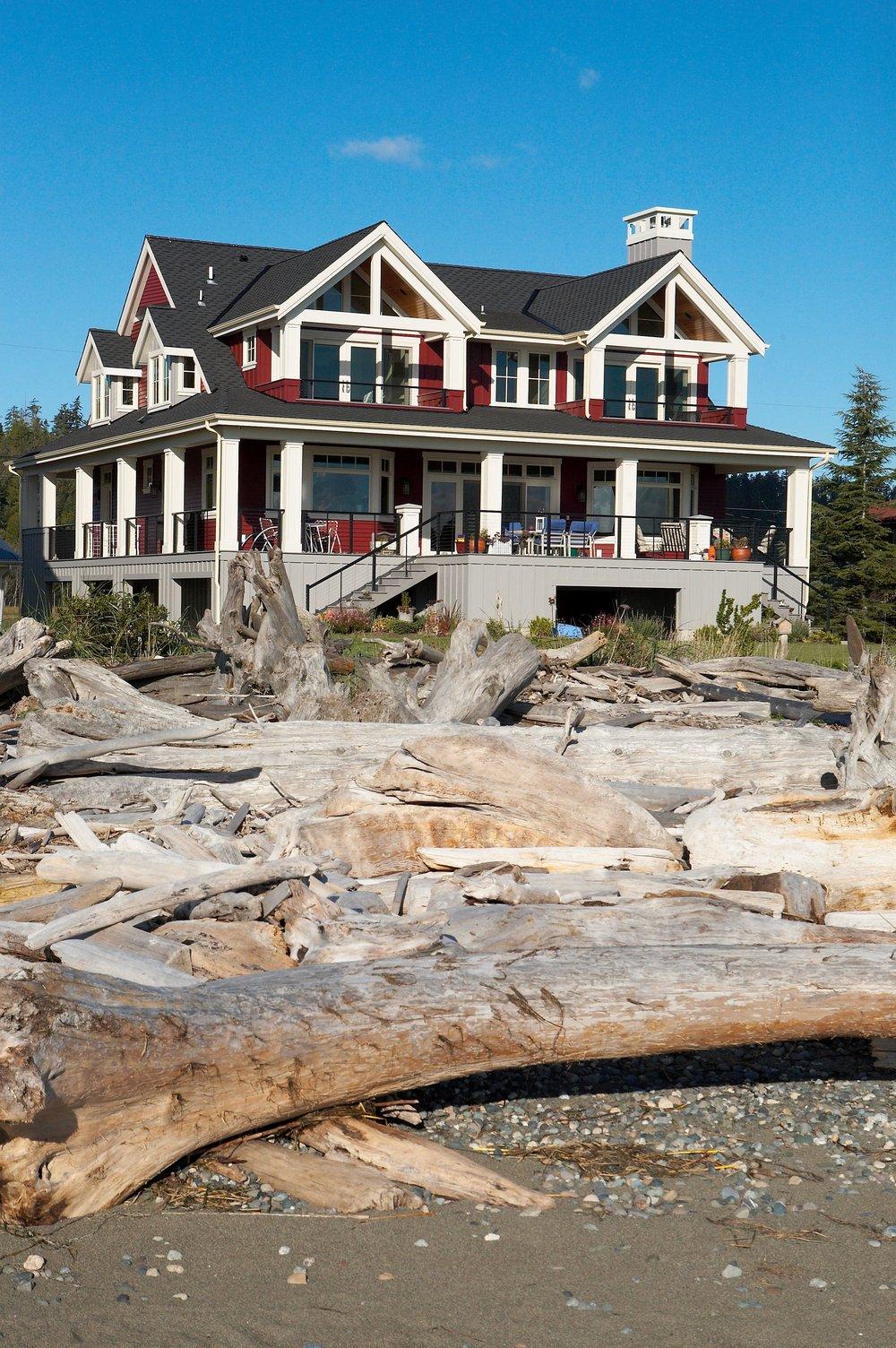 "<span class=""project-title"">IVERSON BEACH RESIDENCE, WATERFRONT</span>  Camano Island, WA"