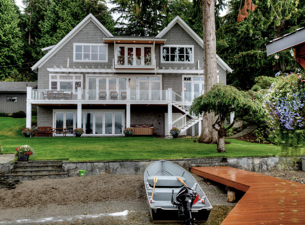 "<span class=""project-title"">LAKE GOODWIN ""FOREVER HOUSE,"" WATERFRONT</span>  Stanwood, WA"