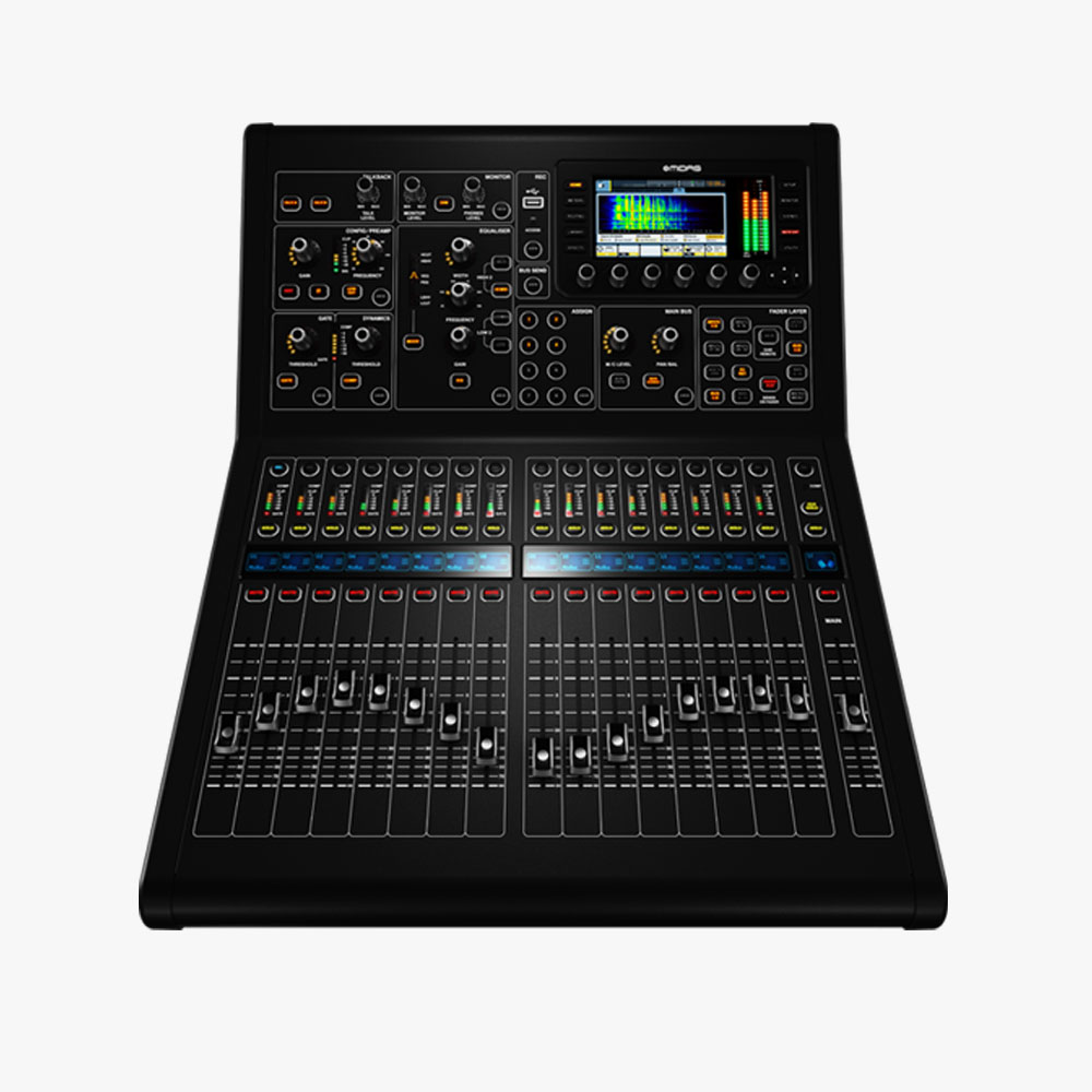 Midas M32R: £100  Console, DL16 Stage Box, 50m Cat5 Cable –£140