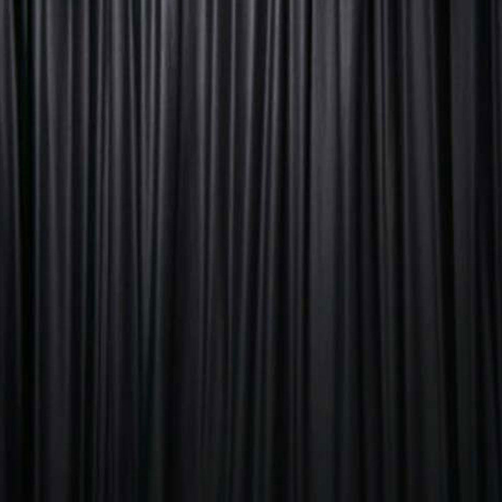 Black Serge Wool Drape: £30 per 6x3m Bay