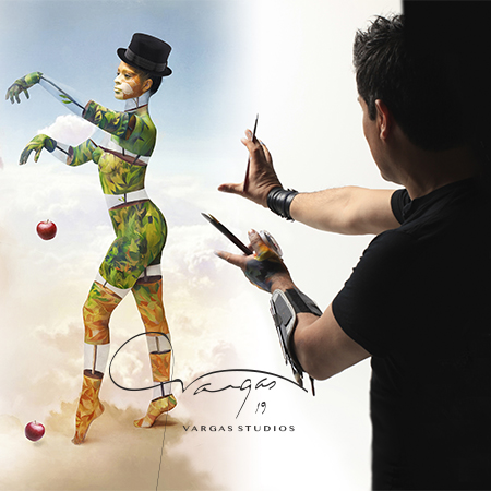 "@vargasthebodypainter - ""an icon of bodypainting"""