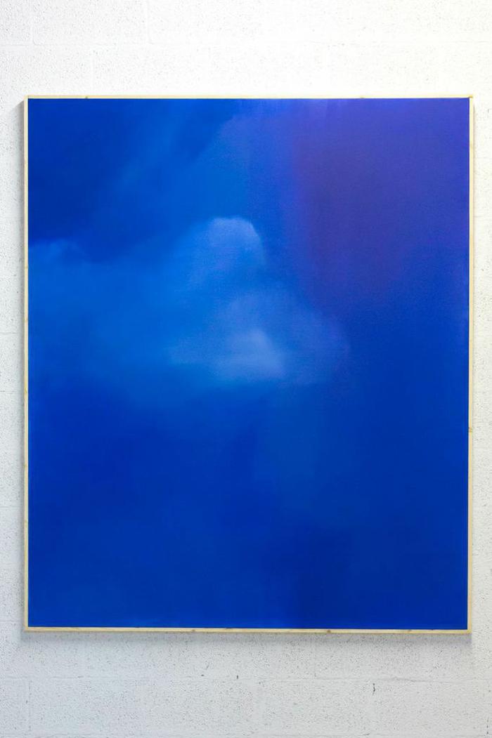 Nick Farhi - Animae Cloud No. 3, 2014 - Oil on canvas, 72 x 60 IN