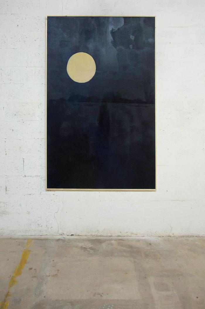 Nick Farhi - L'Octane Memphis, 2014 - Oil on canvas, 78 x 49 IN
