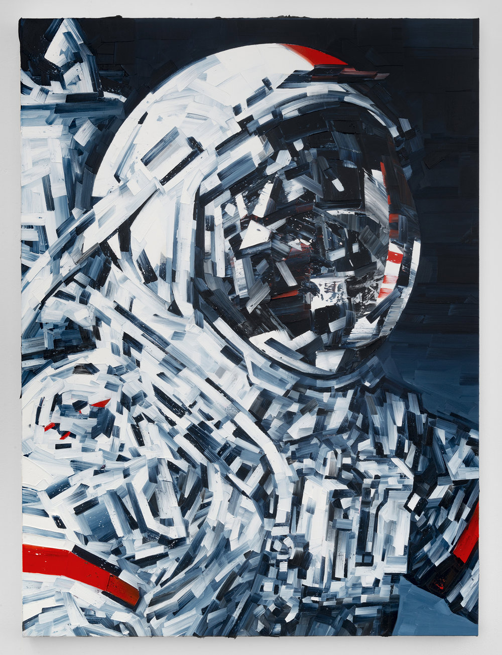 Michael Kagan  Cernan, 2018  Oil on linen  40h x 30w in  101.60h x 76.20w cm  MK004