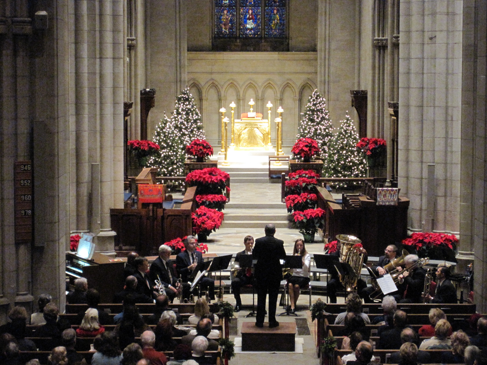 Christmas vespers at the Bryn Athyn Cathedral