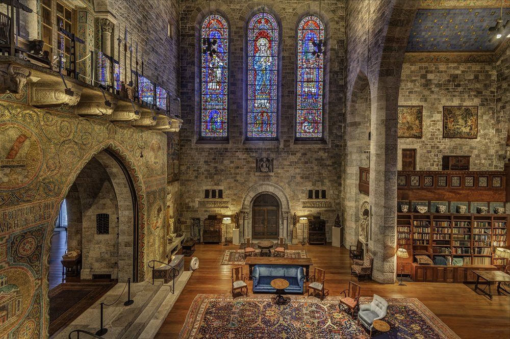 Glencairn Museum's Great Hall (photo: Rusty Kennedy)
