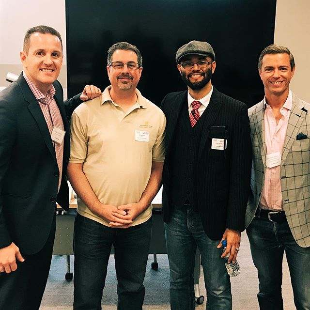 We had a great time partnering with Vital Link - OC this year at the Cisco Irvine campus. We were joined by some talented folks, such as Jonathan Mayer, A Brand Consultancy and Henry Escoto (Executive Director, Design at Fox Networks Group) to speak about design and curriculum development to a large group of educators. 👨‍🏫 ···⠀ #TurnedUPMedia | Amplify Your Brand 🔊
