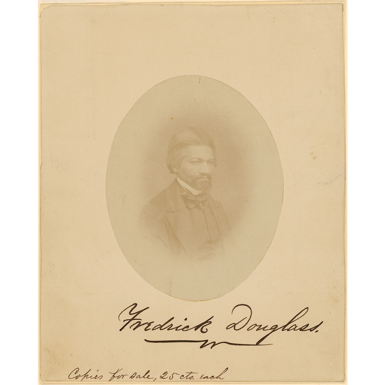 artist unknown, frederick douglass c.1860. national portrait gallery, smithsonian institution