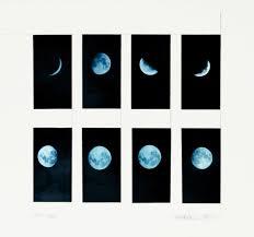 leandro katz,  blue moon , 1979