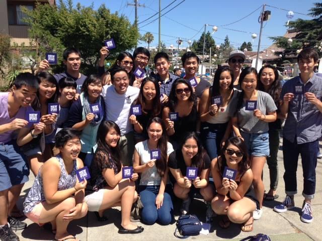 2014 Nikkei Community Interns at the San Jose Obon Festival!
