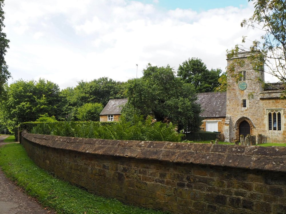 The small parish church in Nether Worton