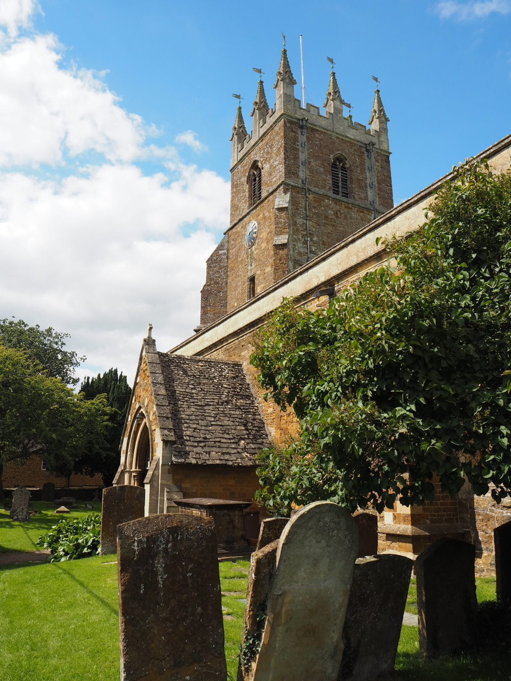 S.S. Peter and Paul Parish Church in Deddington.