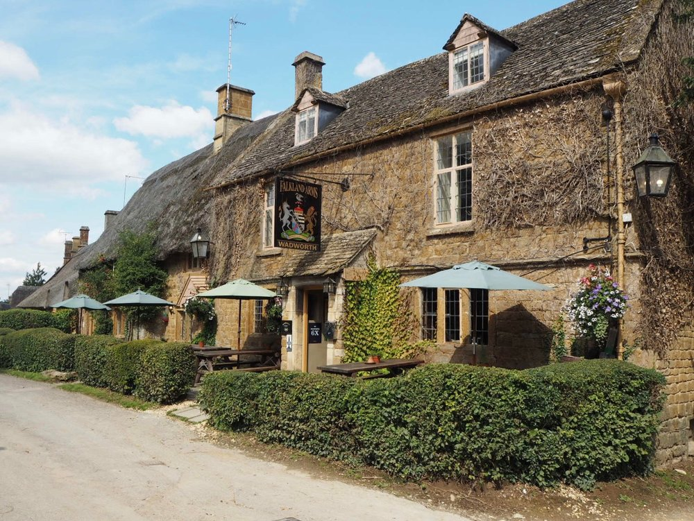 The Falkland Arms at Great Tew.