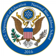 Recipient:  2016 National Blue Ribbon School Award