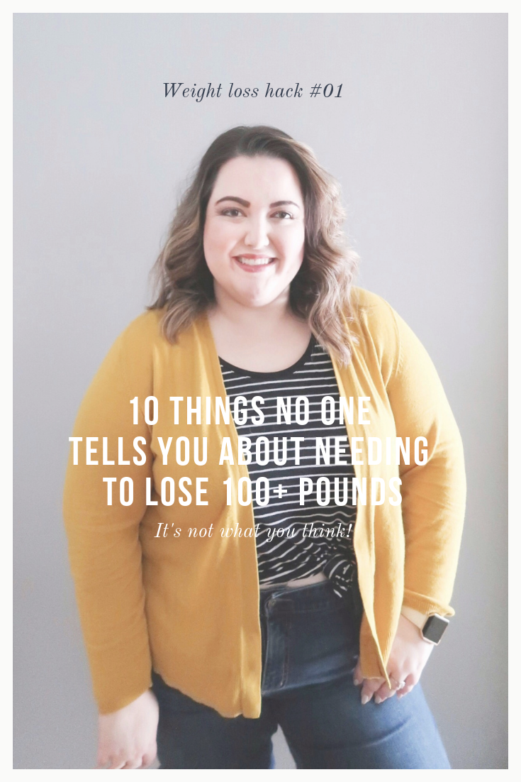 10 Things No One Tells You About Needing to Lose 100+ Pounds  |  SimplyHomeKC.com
