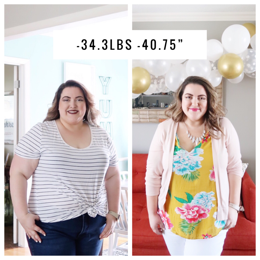 Nearly 35 pounds of Weight Loss in 3 Months - Abagail Pumphrey  |  SimplyHomeKC.com